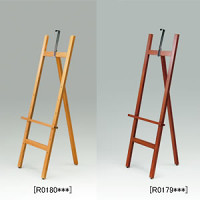 木製イーゼル MS198(9) ブラウン (MS199BR)