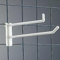 樹脂製 ネットフック 白 ダブルタイプ NW-50