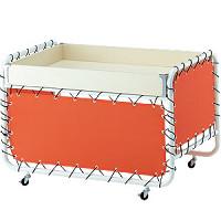 テント張りワゴン W1000 オレンジ