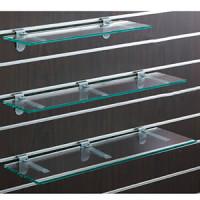 スロットウォール用ガラス棚セットW600 D350