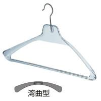 プラ製シャツ・ジャケットハンガー 透明10本入