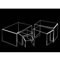 コの字展示台 小小 100×100×75