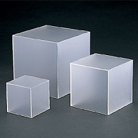アクリルBOX 5面体 (マット) t=3mm 200角