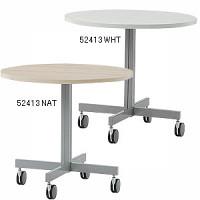 ラウンドテーブル  800W ホワイト