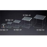 アクリル4面ボックス 透明  100角