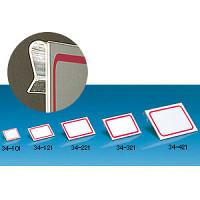 引っ掛け式カードホルダー 34-121 65×40 3ヶ入