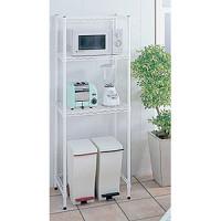 キッチンラック 600×450 H1600 ホワイト