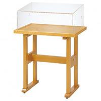 ワイド木製サンプルスタンド カラー:ナチュラル (58263NAT)