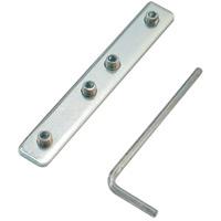 タペストリーバー用φ20連結金具 (58429***)