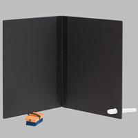 ノート黒板 チョークホルダーカラー:白 (G0041-1*)