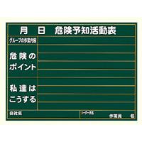 雨天用型危険予知活動表小 (320-12A)