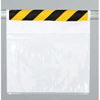 ワンタッチ取付標識両面ポケット式 (防雨型 (341-981)