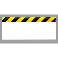 ワンタッチ取付標識 (反射印刷) 内容:ストライプ無地 (342-25)