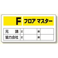 フロアマスター標識 Fフロアマスター (348-51)