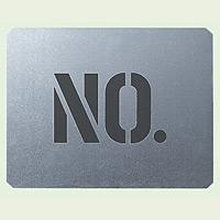 吹付け用プレート NO. ブリキ板 350×450 (349-05)