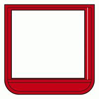 差替楽々・ポケット胸章 60×60 赤 (368-15)