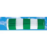 吹流し 緑/白 650Φ×2150mm (372-31)