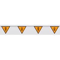 三角旗 (10連) 高電圧 危険 (372-72)