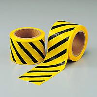 ストライプテープ (粘着無・セパ無) 80mm幅×50m巻 (374-58)