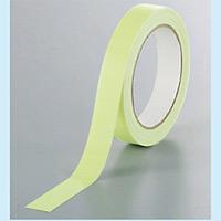 蓄光テープ (室内用テープ) 蓄光フィルム 20mm幅×10m巻 (374-64)
