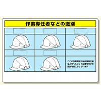 作業専任者識別標識セット (377-49)