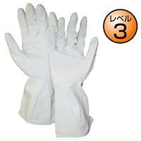 ビニール製保護手袋 10双1組 (379-28)