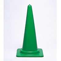 カラーコーン 緑 700mmH (385-16)