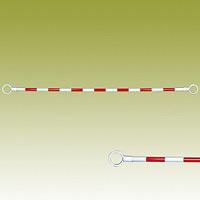 コーンバー (赤白) 赤色部反射 34Ф×2000mm (385-31)
