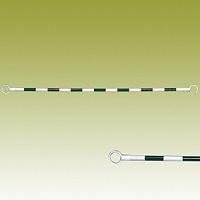 コーンバー (緑白) 緑色部反射 34Ф×2000mm (385-32)
