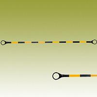 コーンバー (黄黒) 黄色部反射 34Ф×2000mm (385-33)
