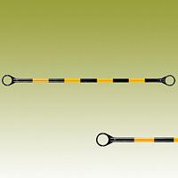 コーンバー (黄黒) 黄色部反射 34Ф×1500mm (385-34)