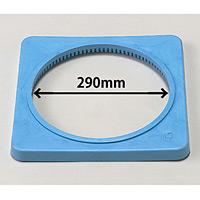 カラーコーン用ウエイト (700mmH用) 青・ポリエチレン製1.5kg (385-44)