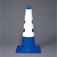 カラーコーン用カバー 430×290 内容:白無地 (385-70A)