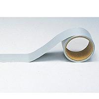 船舶用配管識別テープ シルバー 大 100mm幅×5m (445-24)