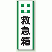 救急箱 短冊型標識 (タテ) 360×120 (811-25)