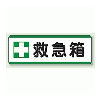 救急箱 短冊型標識 (横型) 120×360 (811-73)