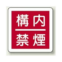 構内禁煙 防火標識ボード 300×300 (825-64)