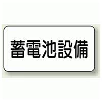 蓄電池設備 エコボード 150×300 (828-92)
