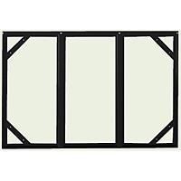 危険物標識 スライドアングル ボンデ鋼板 605×910 (828-96)