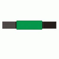 差替楽々・ピンレスゴム腕章 緑 (848-52)