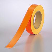 蛍光テープ (セパ付) オレンジ 30mm幅×20m巻 (863-18)