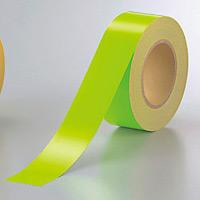 蛍光テープ (セパ付) 緑 50mm幅×20m巻 (863-20)