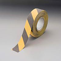 アンチスリップ (滑り止め) (セパ付) テープ・トラ 50mm幅×18m巻 (863-394)