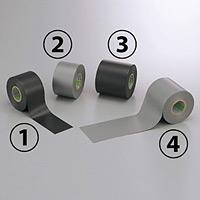 防食テープ (セパ無) 10m巻 色/幅:(1)黒 50mm幅 (864-40)