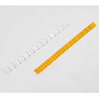 視線誘導反射材ウエーブライン 50mm幅 カラー:白 (866-12)