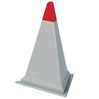 サインピラミッド 本体のみ グレー 867-75GWY