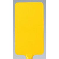 カラーサインボード縦型 黄無地 (871-92)