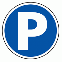 上部標識 Pマーク (サインタワー同時購入用) (887-701)