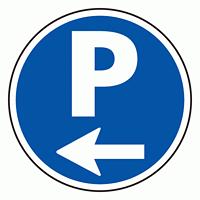 上部標識 P← (サインタワー同時購入用) (887-702L)