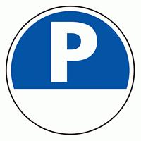 上部標識 P+空白 (サインタワー同時購入用) (887-703)